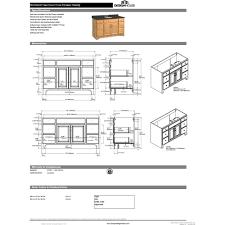 design house dnh 530436 richland nutmeg oak single basin bathroom