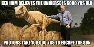 Ken Ham Meme - creationism flaw imgflip