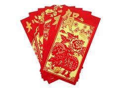 luck envelopes 6 pack envelope lucky money hong bao packet year of