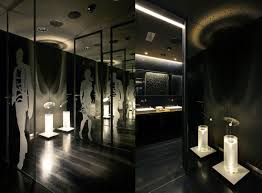 FouZooMinimalistContemporaryRestroomInterior Bathrooms - Restaurant bathroom design