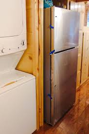 tiny house spotlight archives page for course there also full size fridge freezer unit and washer dryer next