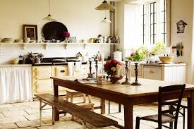 country kitchen with cream aga kitchen design ideas