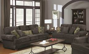 Corduroy Living Room Set by Living Room Grey Cotton Sofa And Loveseat For Contemporary Living