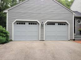 Visalia Overhead Door C H I Overhead Doors Model 5216 Steel Carriage House Style Garage