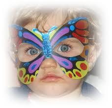Masker Vir celebrations beertjie en butterfly partytjie 1 jaar