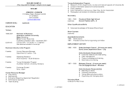 resume writing for high students no work experience