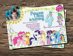 template free printable my little pony invitations diy with