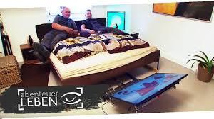 Schlafzimmer Bett Selber Bauen Einfach Und Günstig Selber Bauen Diy Fernseher Unterm Bett