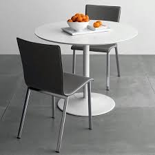 cb2 round dining table 70 round dining tables that can totally transform any kitchen