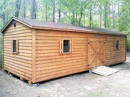 Cabin Styles Backyard Cottages Leonard Buildings U0026 Truck Accessories