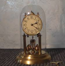 Linden Mantel Clock Jahresuhrenfabrik U2013 August Schatz Anniversary Clock 1949 James