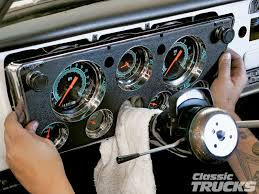 classic instruments gauge panels for 1967 1972 chevys and gmcs