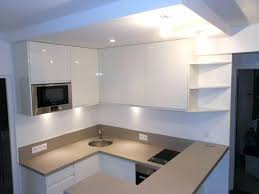cuisine blanc laqué plan travail bois plan de travail cuisine blanc laquac laqu et plan de travail