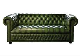 Chesterfield Leather Sofa Bed Green Leather Chesterfield Sofa Bed 1025theparty
