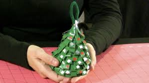 how to make a duct tree ornament monkeysee