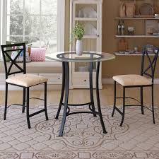 3 piece counter height table set andover mills boxwood 3 piece counter height dining set reviews