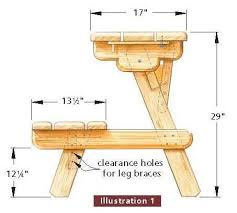 Folding Picnic Table To Bench Folding Picnic Table To Bench Seat Free Plans How Awesome Is