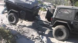 m416 trailer off road trailer on rubicon trail with jeep jk 2012 youtube