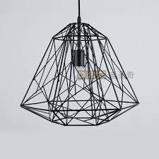 Wire Cage Light Wire Cage Pendant Lighting Diamond Light Industrial Farmhouse