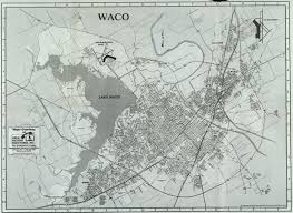 map waco a day in the collection deshong archival