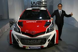 world auto toyota toyota announces 2017 world rally chionship return with yaris
