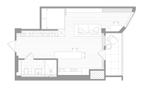 square house floor plans small home designs under 50 square meters