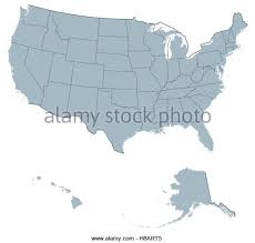 map united states including hawaii united states map alaska and hawaii stock photos united states