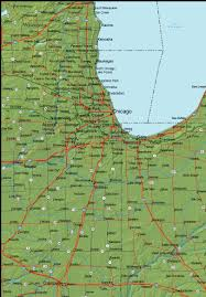 Map Indiana Detailed Indiana Area Road Map Indiana U2022 Mappery