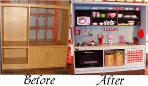 play kitchen ideas turn an tv cabinet into a play kitchen for your