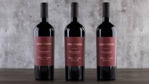 martini rosso monte rosso cabernet 3 bottle collection louis m martini