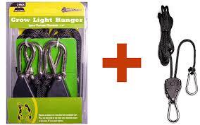 grow light hangers 1 8 heavy duty triplet three 3