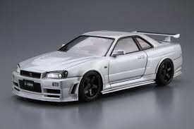 nissan skyline z tune price 1 24 nismo bnr34 skyline gt r z tune u002704 aoshima english