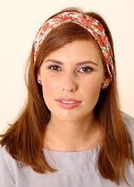 floral headband floral headband made of chiffon tamar landau