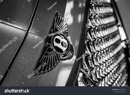 bentley bentayga 2016 black stuttgart germany march 04 2017 hood stock photo 644253766