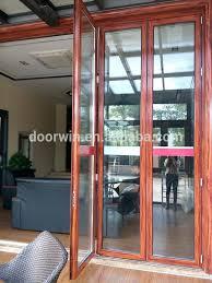 Bi Fold Glass Doors Exterior Cost Astounding Folding Exterior Glass Doors Cost Images Ideas House