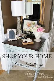 Home Decor Artsy Chicks Rule - Thrifty home decor