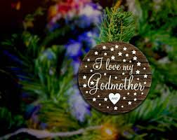 goddaughter christmas ornaments godchild ornament etsy