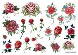 vintage rose sheet 1 jpg