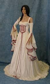 elvish style wedding dresses dress elvish wedding dress handfasting dress bridal bliss