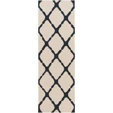 Indoor Outdoor Rug Runner White Outdoor Rugs Rugs The Home Depot