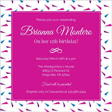 15th birthday party invitations festive sweet 15 party invitations