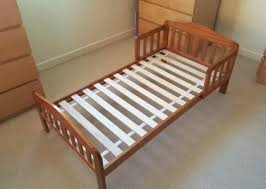 solid pine toddler bed from mothercare mattress included in