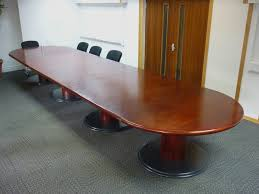 Sven Boardroom Table Sven 6000x1500mm Rosewood D End Boardroom Table Recycled