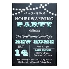 gift registry for housewarming chalkboard housewarming invitation zazzle