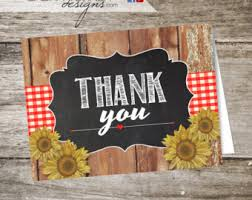 western thank you etsy