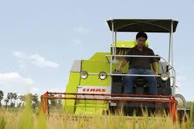 crop tiger 30 terra trac combine harvester claas