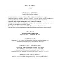 Advertising Resume Templates Breathtaking Advertising Resume 37 For Free Resume Templates With