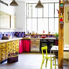 home colorful kitchen the blond zebras