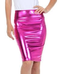 pink leather skirt amazon com