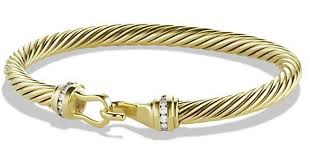 buckle bracelet gold images Lyst david yurman cable classic buckle bracelet with diamonds in jpeg